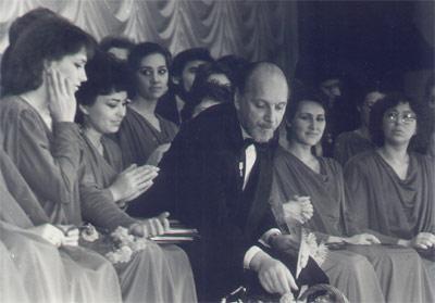 1988г.  Юбилей у хора 20лет