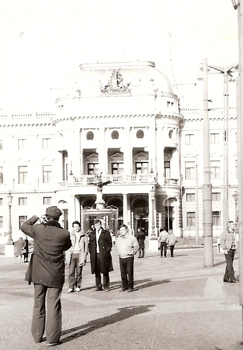 конец 80-х, г. Дрезден