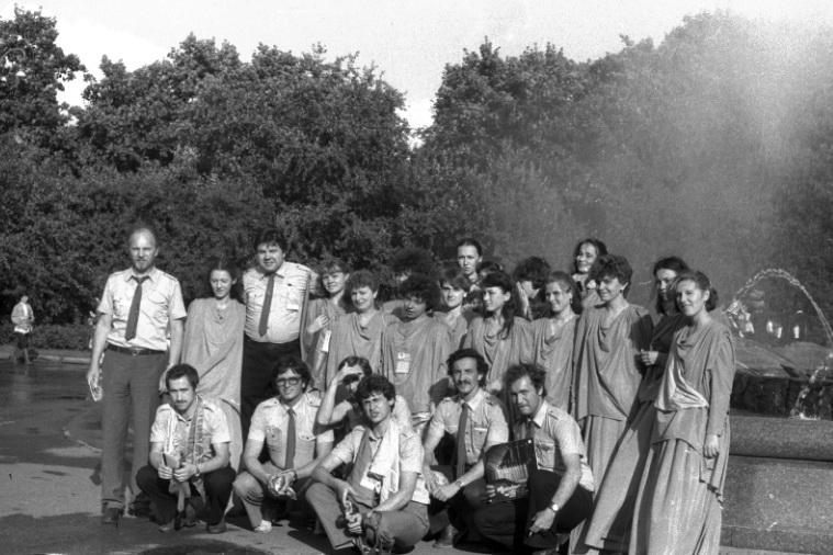 1985г. Участие на XII Всемирном фестивале молодежи и студентов в Москве