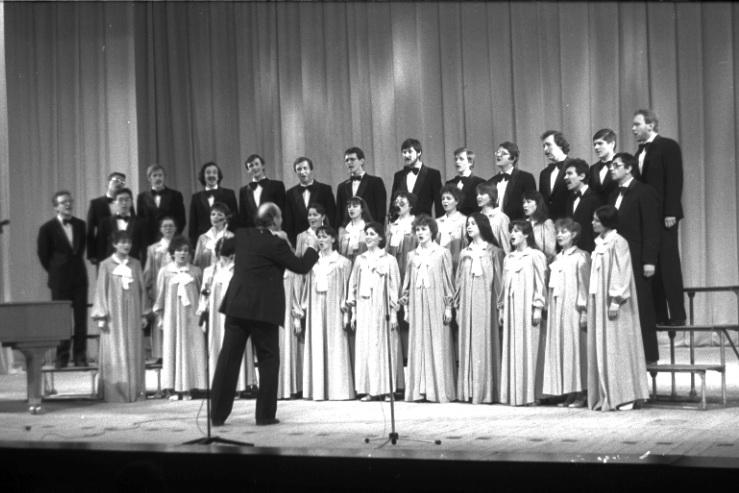 1988г. Концертная поездка в Суздаль